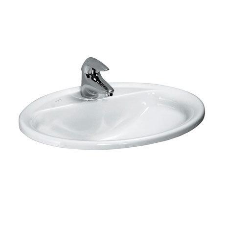 Laufen - Pro 1 Tap Hole 560mm Inset Basin - 13951