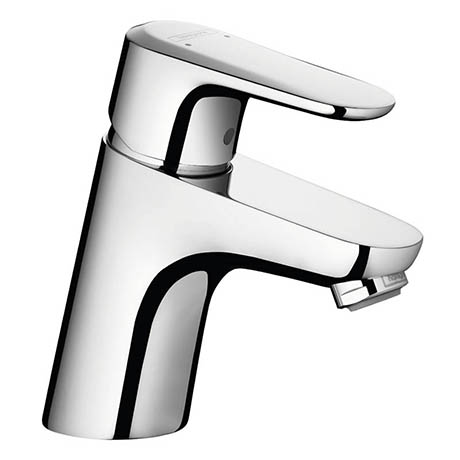 Hansgrohe Ecos M Single Lever Basin Mixer with Pop-up Waste - 14080000