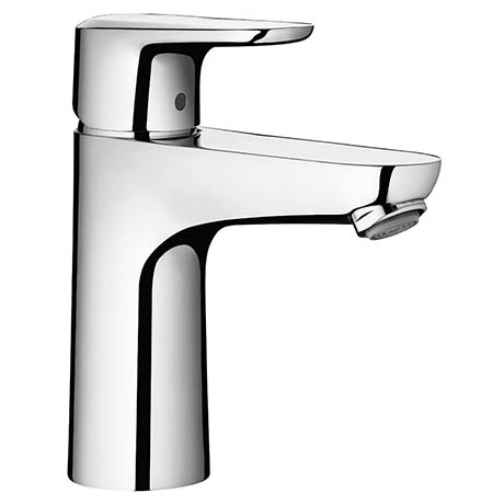 Hansgrohe Ecos L Single Lever Basin Mixer with Pop-up Waste - 14081000