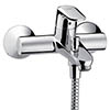 Hansgrohe Ecos Exposed Single Lever Bath Shower Mixer - 14084000 profile small image view 1