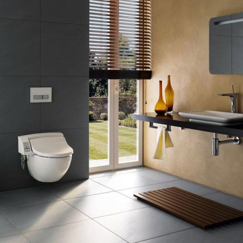 Geberit - AquaClean 5000 Plus Shower Soft Close Toilet Seat profile large image view 4