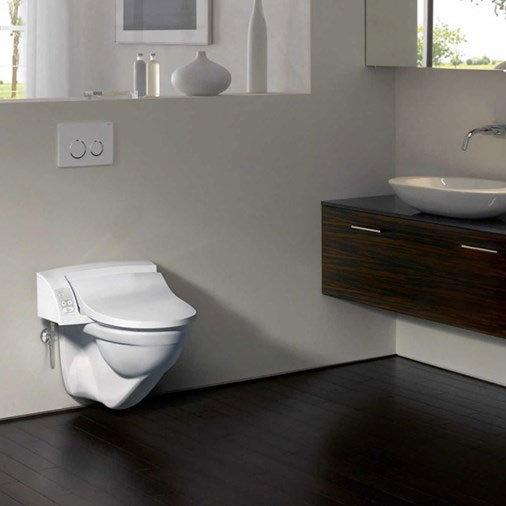 Geberit - AquaClean 5000 Plus Shower Soft Close Toilet Seat profile large image view 5