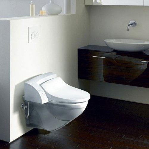 Geberit - AquaClean 5000 Shower Soft Close Toilet Seat In Bathroom Large Image