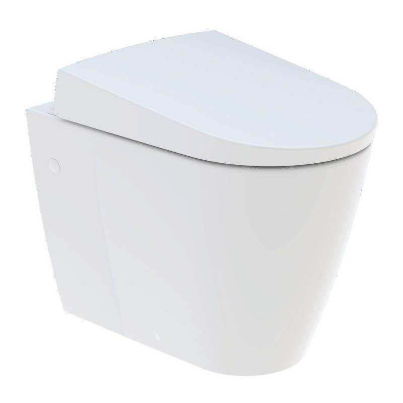 Geberit AquaClean Sela Back to Wall Shower WC & Soft Close Seat