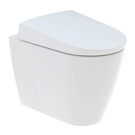 Geberit AquaClean Sela Back to Wall Shower WC & Soft Close Seat