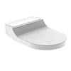 Geberit AquaClean Alpine White Tuma Shower Soft Close Toilet Seat profile small image view 1