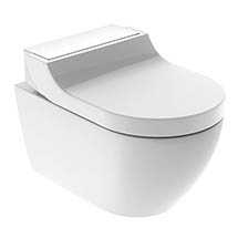 Geberit AquaClean Alpine White Tuma Rimless Wall Hung Shower WC