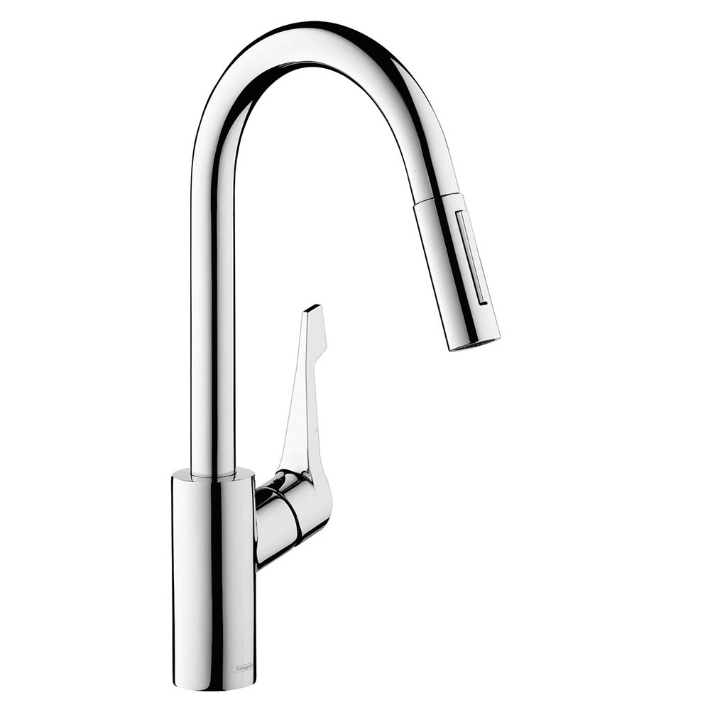 hansgrohe Cento XL Single Lever Kitchen Mixer with Pull Out Spray - 14803000