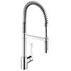 Hansgrohe Cento XXL Single Lever Kitchen Mixer with Professional Spray - 14806000 profile small image view 1