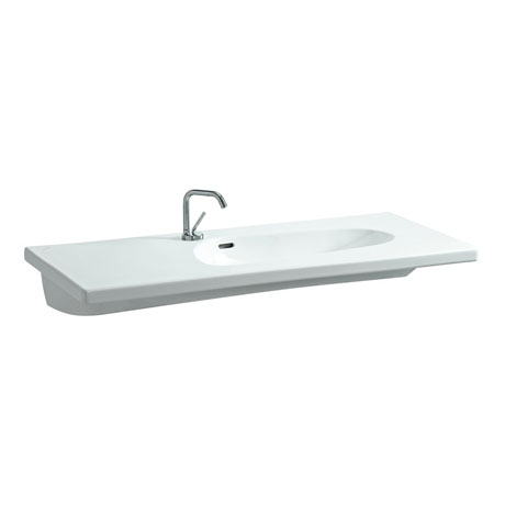 Laufen - Palomba 1 Tap Hole 1200mm Countertop Basin - 148060104