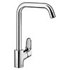 hansgrohe Ecos L Single Lever Kitchen Mixer - 14816000 profile small image view 1