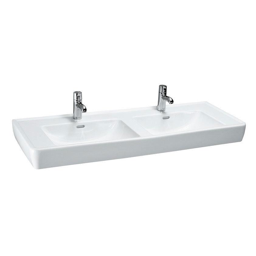 Laufen - Pro 1300mm Double Basin - 14967 Large Image