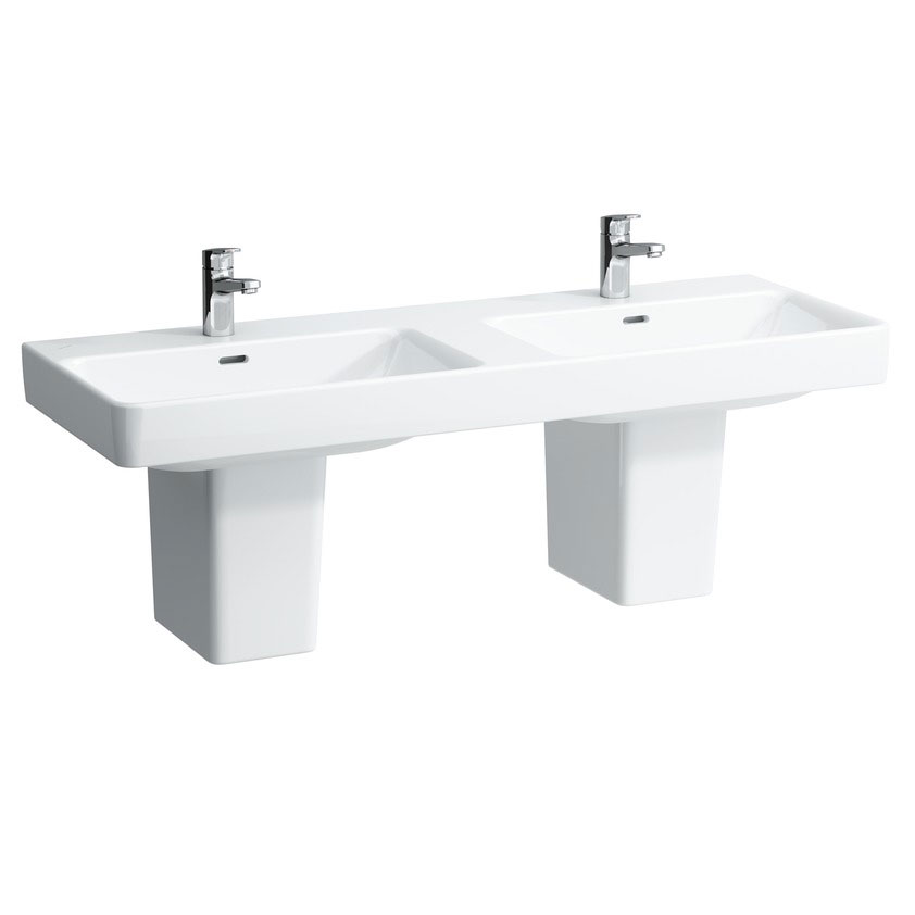 Laufen - Pro S 1300mm Double Basin - 14968 Profile Large Image