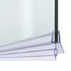 14mm Gap Bath Shower Screen Door Seal Strip - Glass 4-6mm profile small image view 1