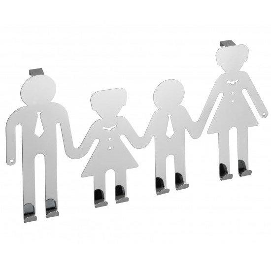 Wenko Happy Family Door Hook - Chrome - 15002100 Large Image