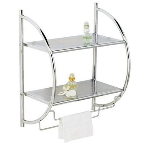 Wenko Exclusive Wall Rack - Chrome - 15173100