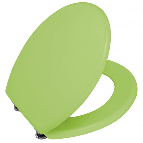 Wenko Prima MDF Toilet Seat - Anisgreen - 152225100 Feature Large Image
