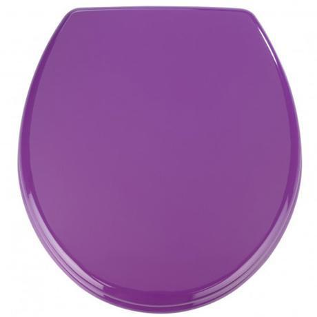 Wenko Prima MDF Toilet Seat - Purple - 152285100