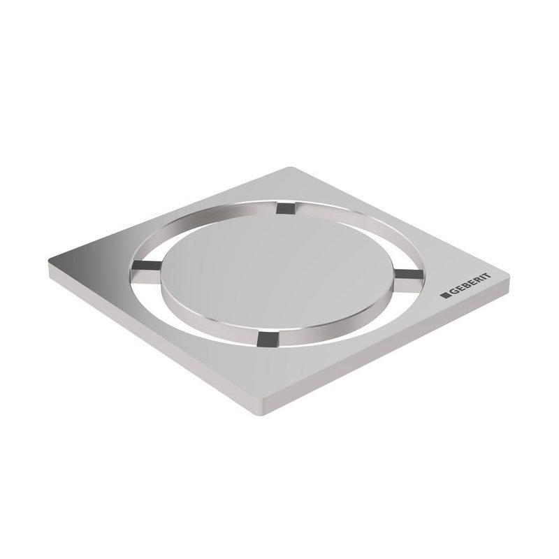 Geberit - Circle Design Shower Grating (71 x 71mm) Large Image