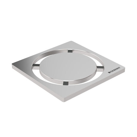 Geberit - Circle Design Shower Grating (71 x 71mm)