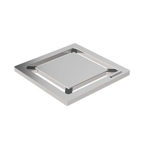 Geberit - Square Design Shower Grating (71 x 71mm) Large Image