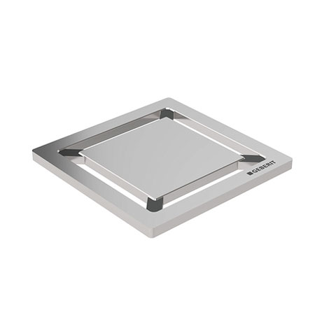 Geberit - Square Design Shower Grating (71 x 71mm)