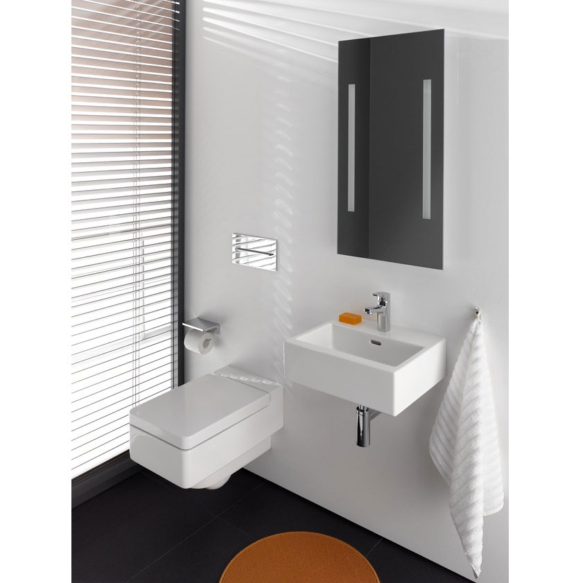 Laufen - Living City 1 Tap Hole 450mm Small Basin - 15432 profile large image view 2