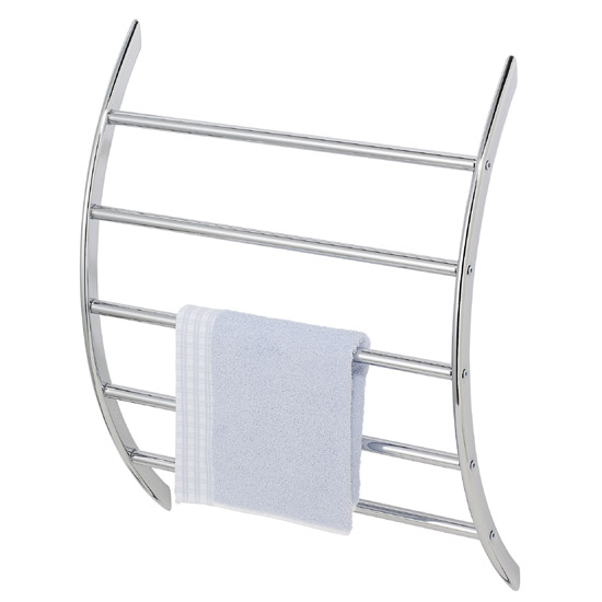 Wenko U-Shaped Exclusive Wall Rack - Chrome - 15450100 profile large image view 1