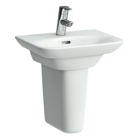 Laufen - Palace 450mm Small Basin - 2 x Tap Hole Options profile large image view 2