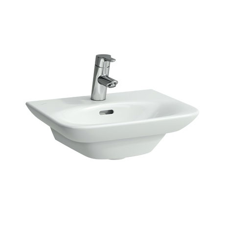 Laufen - Palace 450mm Small Basin - 2 x Tap Hole Options profile large image view 1
