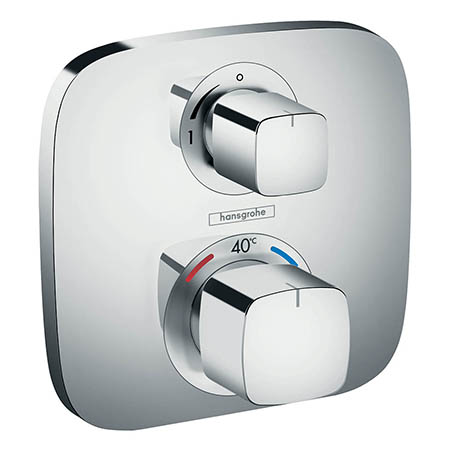 Hansgrohe Ecostat E Thermostat 1 Function Concealed Finish Set - 15707000