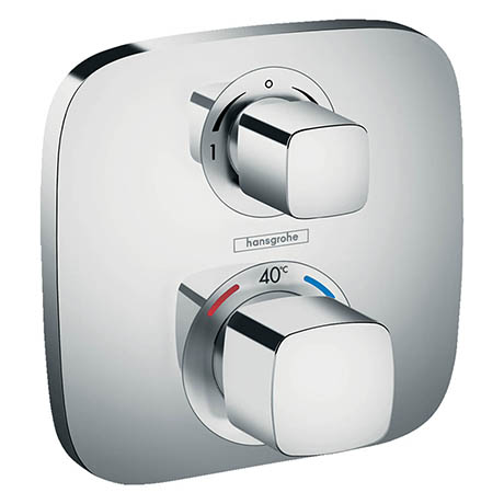 Hansgrohe Ecostat E Thermostat 2 Function Concealed Finish Set - 15708000