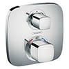 hansgrohe Ecostat E Thermostat 2 Function Concealed Finish Set - 15708000 profile small image view 1