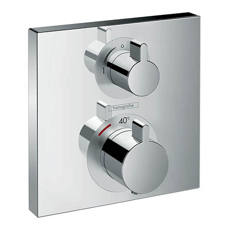 Hansgrohe Ecostat Thermostat 1 Function Concealed Finish Set - 15712000