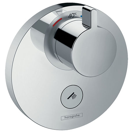 hansgrohe ShowerSelect S HighFlow Thermostatic Mixer for Concealed Installation for Multiple Outlets