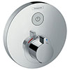 hansgrohe ShowerSelect S Thermostatic Mixer for Concealed Installation for 1 Outlet - 15744000 profile small image view 1