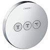 hansgrohe ShowerSelect S Valve for Concealed Installation for 3 Outlets - 15745000 profile small image view 1