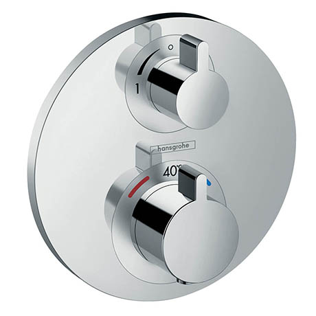 Hansgrohe Ecostat S Thermostat 1 Function Concealed Finish Set - 15757000