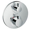 hansgrohe Ecostat S Thermostat 1 Function Concealed Finish Set - 15757000 profile small image view 1