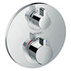 Hansgrohe Ecostat S Thermostat 2 Function Concealed Finish Set - 15758000 profile small image view 1