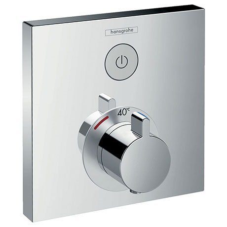 hansgrohe ShowerSelect Thermostatic Mixer for Concealed Installation for 1 Outlet - 15762000