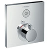hansgrohe ShowerSelect Thermostatic Mixer for Concealed Installation for 1 Outlet - 15762000 profile small image view 1