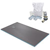 1500 x 800 Wet Room Walk In Rectangular Tray Former Kit (End Waste) profile small image view 1