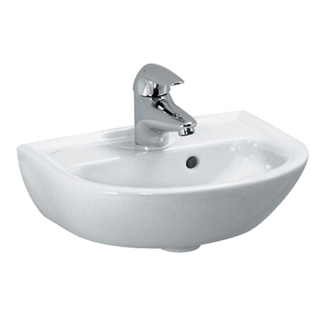 Laufen - Pro 1 Tap Hole Small Wall Hung Basin - 2 x Size Options