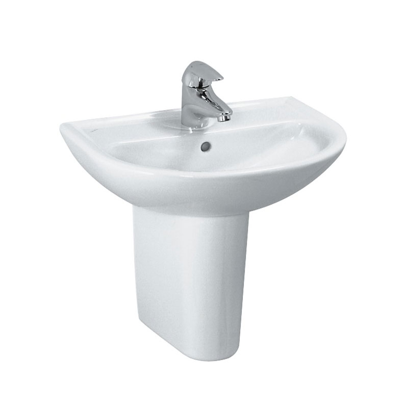 Laufen - Pro 1 Tap Hole Small Basin - 2 x Size Options profile large image view 2