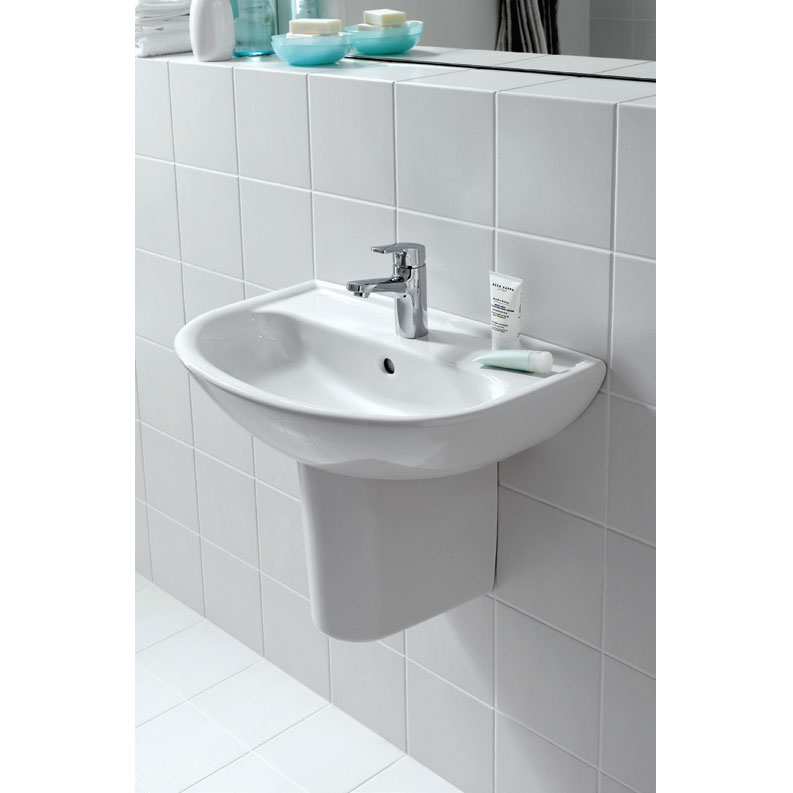 Laufen - Pro 1 Tap Hole Small Basin - 2 x Size Options profile large image view 3