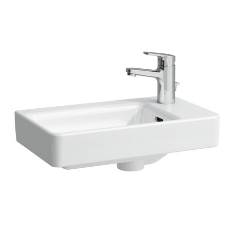 Laufen - Pro S 1 Tap Hole Small Asymmetric Basin - Right or Left Hand Option