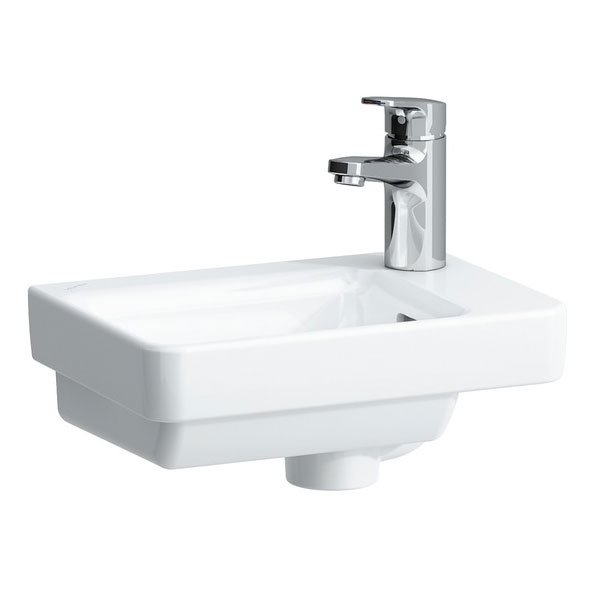 Laufen - Pro S 1 Tap Hole Small Asymmetric Basin - 15960 Large Image