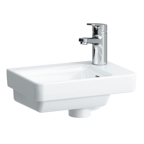 Laufen - Pro S 1 Tap Hole Small Asymmetric Basin - 15960