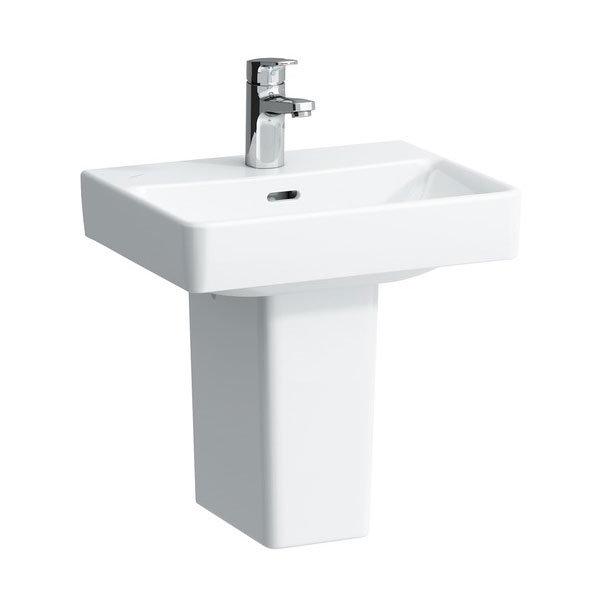 Laufen - Pro S 1 Tap Hole 450mm Small Basin - 15961 Profile Large Image